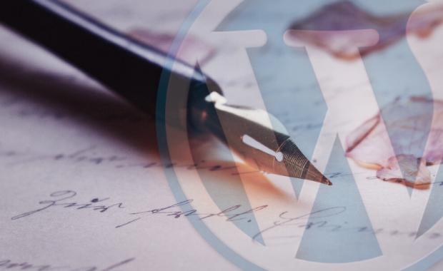 write wordpress post