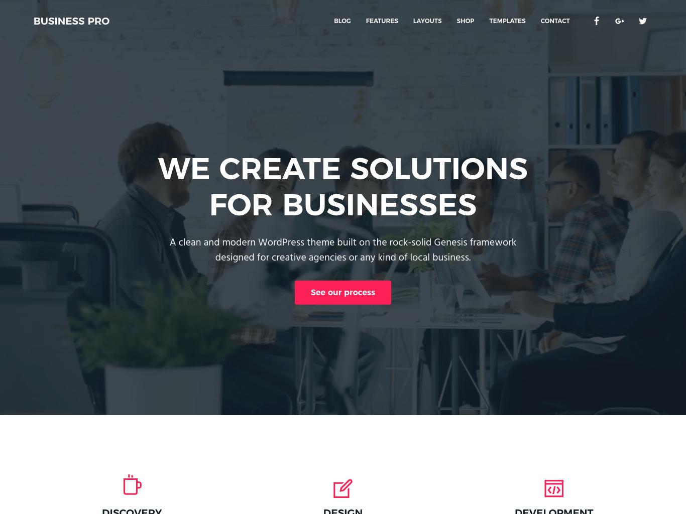 Business Pro 1.0.4 Theme by SEO Themes – My StudioPress