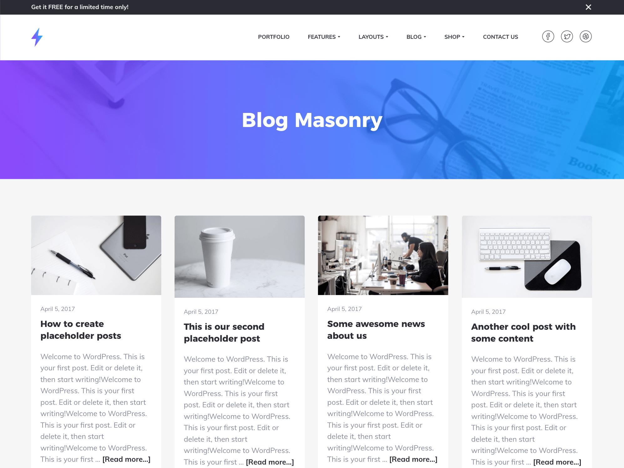 genesis blog theme